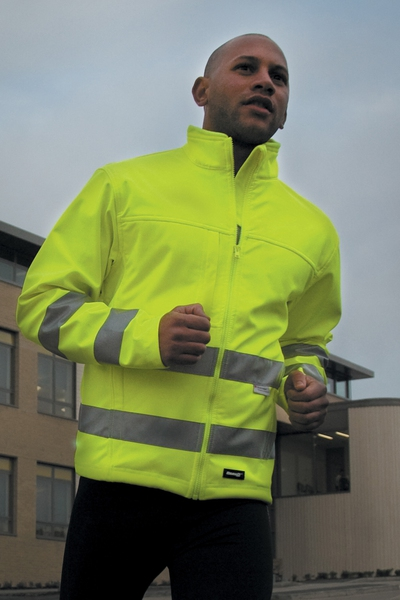 HIGH-VIZ SOFT SHELL